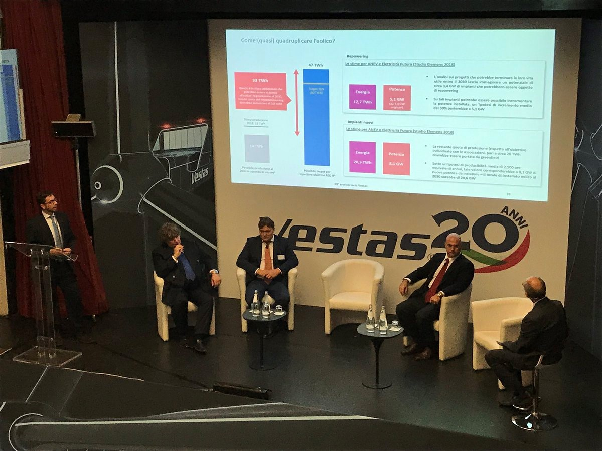 Elemens keynote speaker al customer event di Vestas