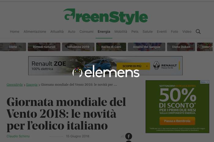 Giornata mondiale del Vento 2018: le novità per l'eolico italiano
