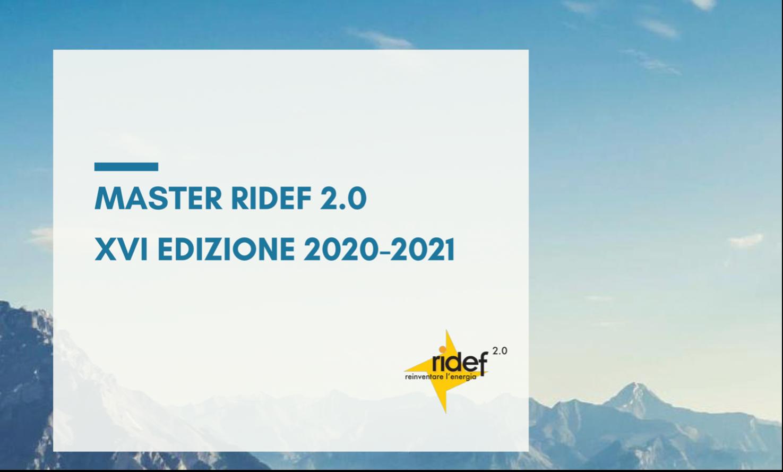 Elemens collabora con la XVI Edizione del Master RIDEF 2.0 (Politecnico di Milano)
